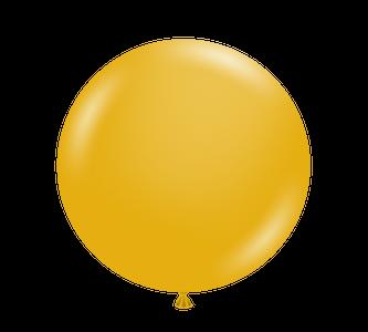 "New Color 11"" Tuf-Tex Mustard Latex Balloons 100ct  #10024"