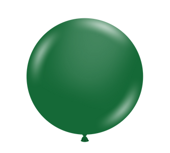 "11"" Tuf-Tex Metallic Forest Green Latex Balloons 100ct  #10054"