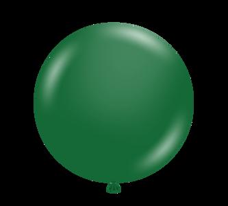 "5"" Tuf-Tex Metallic Forest Green Latex Balloons 50ct #15054"