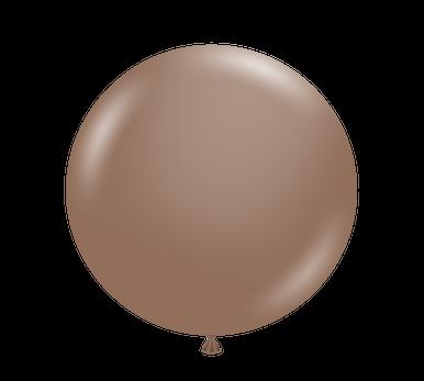 cocoa chocolate balloons