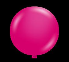 tuf tex metallic fuchsia balloons