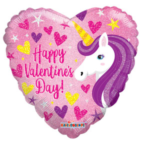 happy valentines day balloons