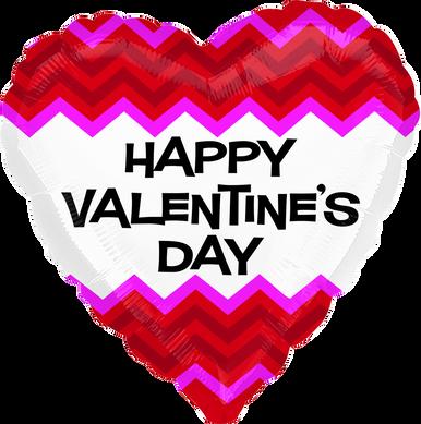 happy valentine's day on white