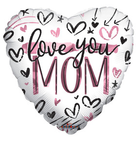 love mom balloons