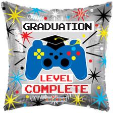 graduation balloons level up