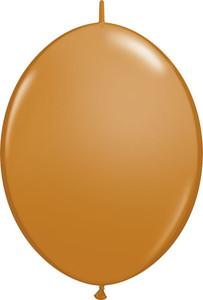 """6"""" Mocha Quick Link Balloons 50 Bag #99865"""