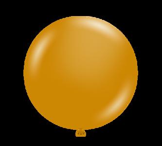 "5"" Tuf Tex Metallic Gold Latex Balloons 50 count Bag #15031"