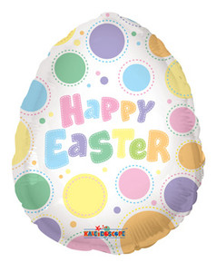 easter egg shape balloon