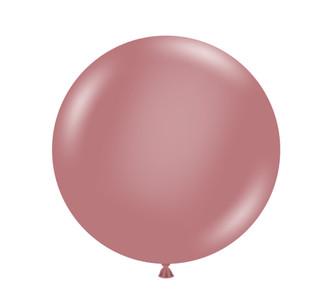 jumbo latex balloons canyon rose