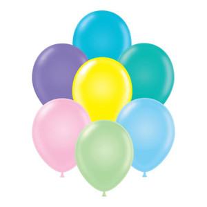 pastel assorted balloons tuf tex