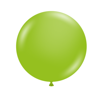 tuf tex lime green balloons