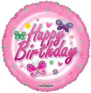 butterfly birthday balloons