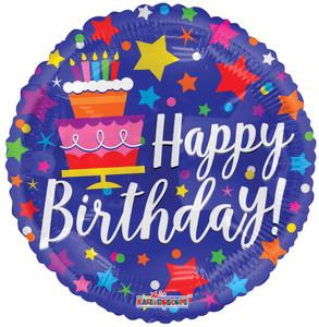 birthday cake balloons
