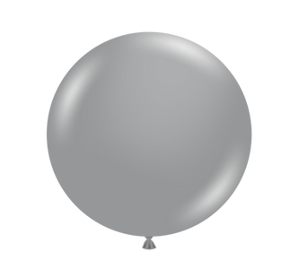 silver tuf tex balloons
