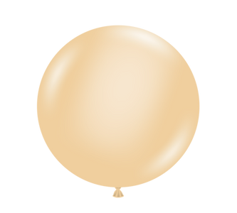 "5"" tuf tex balloons, blush balloons"