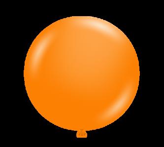 tuf tex balloons tangerine