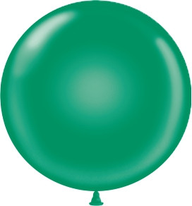 17 inch emerald green latex balloons