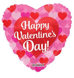 "9""  Happy Valentine Many Hearts Air Fill (5 PACK) #81205-09"