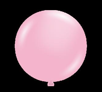 "tuf tex baby pink 17"" balloons"