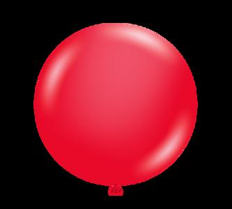 "tuf tex balloons 5"" red"