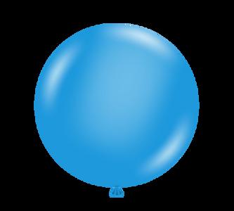 "5"" Tuf Tex Blue Latex Balloons 50 count Bag #15003"