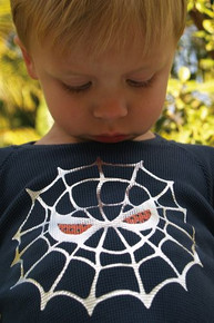 Spider Face Baby Thermal Tee