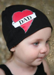 Infant Hat - DAD Tattoo