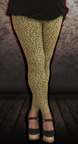 Cheetah Print Maternity Leggings - More Colors