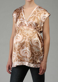 Sasha Brocade Candy Maternity Top