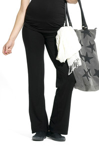 Lely Black Maternity Trousers