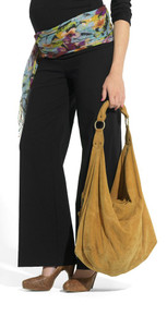 Bengalin Lowrise Black Maternity Trousers