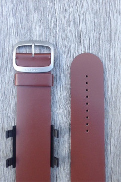 Brown Leather Wrist Bracelet