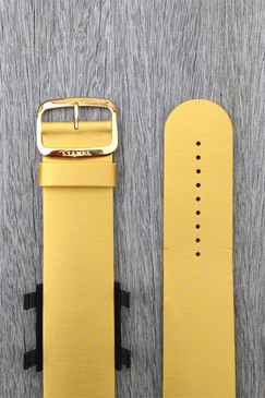 Gold Leather Wrist Bracelet