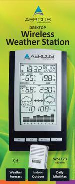 Aercus Instruments™ WS1173 Desktop Weather Station