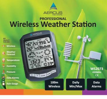 Aercus Instruments™ WS2073 Wireless Weather Station