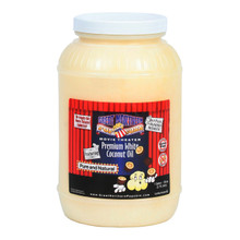 Great Northern Popcorn Premium White Coconut Oil, Gallon