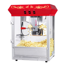 Great Northern Popcorn Red All Star GNP-850 Classic Style Popcorn Top,  8 oz
