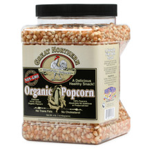 Great Northern Popcorn Organic Yellow Gourmet Popcorn All Natural, 4 Pounds