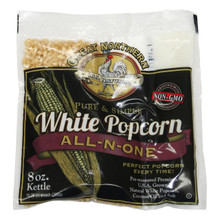 Great Northern Popcorn White Popcorn 8 oz 24 Pack