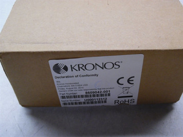 Kronos Time Clocks for sale - New & Used - Buy & Sell