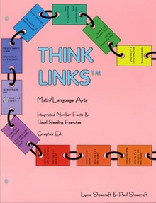 Think Links Math/Language Arts, 63 pages, gr. 1-4