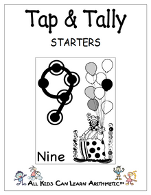 FREE e-book: Tap & Tally Starters, 18 pages, K-2