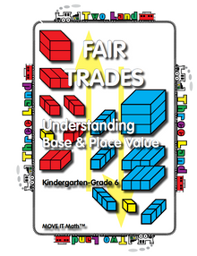 FREE e-book: Fair Trades Understanding Base & Place Value, 118 pages, K-6