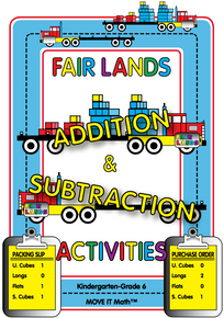 FREE e-book: Fair Lands™ Addition & Subtraction Activities, 120 pages, K-6