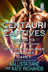 Centauri Captives Books 1-3