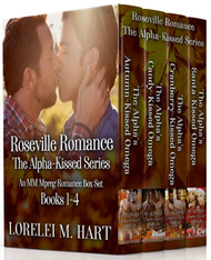 Roseville Romance: The Alpha-Kissed series books 1-4