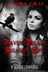 Raven Pirate Assassin Spy (Beyond Fairytales)