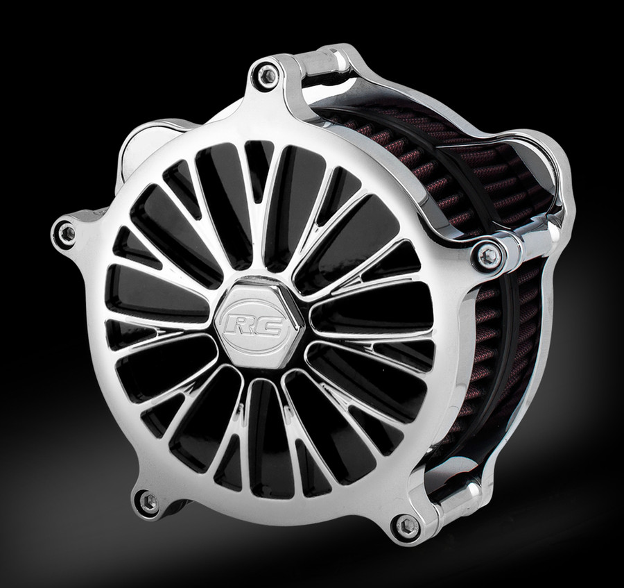 DYNASTY ACCENT CHROME AIRSTRIKE AIR CLEANER