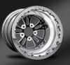 Fusion Eclipse Beadlock Rear Wheel • Fusion Eclipse Center • Polished Outer • Polished Beadlock