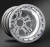 Fusion Polished Beadlock Rear Wheel • Fusion Polished Center • Polished Outer • Polished Beadlock